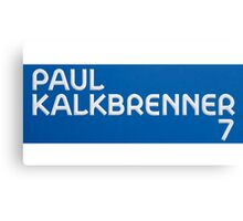 Paul Kalkbrenner 7 Canvas Print