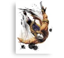 Vega From STREET FIGHTER Canvas Print