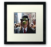 Easter Magritte Framed Print