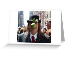Easter Magritte Greeting Card