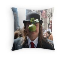 Easter Magritte Throw Pillow