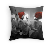 Travel to the North Pole Throw Pillow
