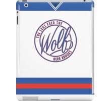 Feed The Wolf (Jersey) iPad Case/Skin