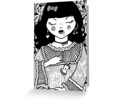 Snow White's Sleep  Greeting Card