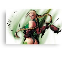 Cammy From Street Fighter! :) Canvas Print