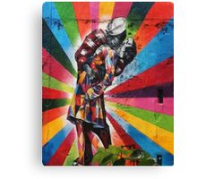Iconic Kiss - Pop of Color Canvas Print