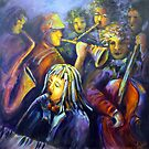 The Musicians by Ivana Pinaffo