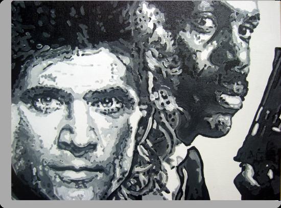Lethal weapon iconic piece by artist Debbie Boyle - db artstudio by Deborah Boyle