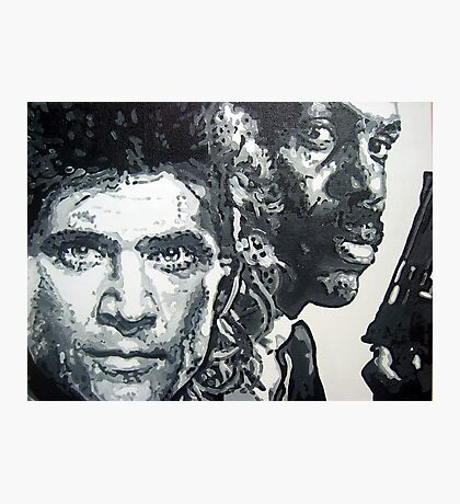 Lethal weapon iconic piece by artist Debbie Boyle - db artstudio Photographic Print