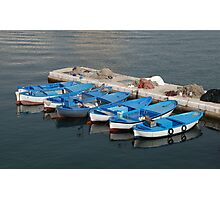 Fishing Boats, Gallipoli Harbour  Photographic Print