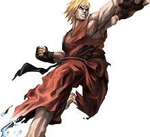 Ken from Street Fighter ! by Scalpedmonkey