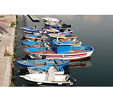 Gallipoli Harbour  Photographic Print