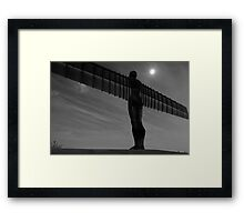 Angel of the North, Gateshead Framed Print