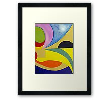 In the eye.... Framed Print