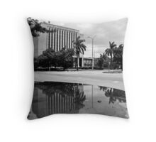 Parallel world Throw Pillow