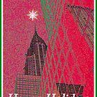 Chrysler Christmas - NYC by peterrobinsonjr
