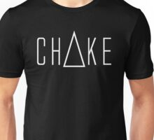 Triangle Choke White Unisex T-Shirt