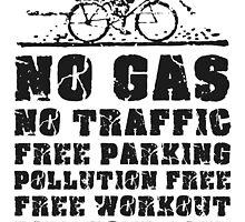 No Gas, No Traffic  by Christina James