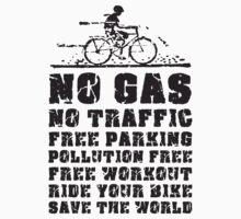 No Gas, No Traffic  Kids Clothes