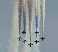 Red Arrows #1 by David Odd