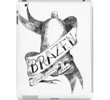 Tattoo logo black iPad Case/Skin