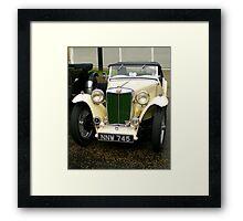 MG TD Framed Print