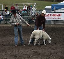 Cochrane Lions Rodeo #1, 2009, Canada. by Felicity McLeod