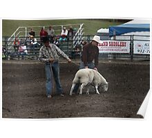 Cochrane Lions Rodeo #1, 2009, Canada. Poster