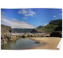 Tidal Pools - Ecola State Park, Oregon Poster