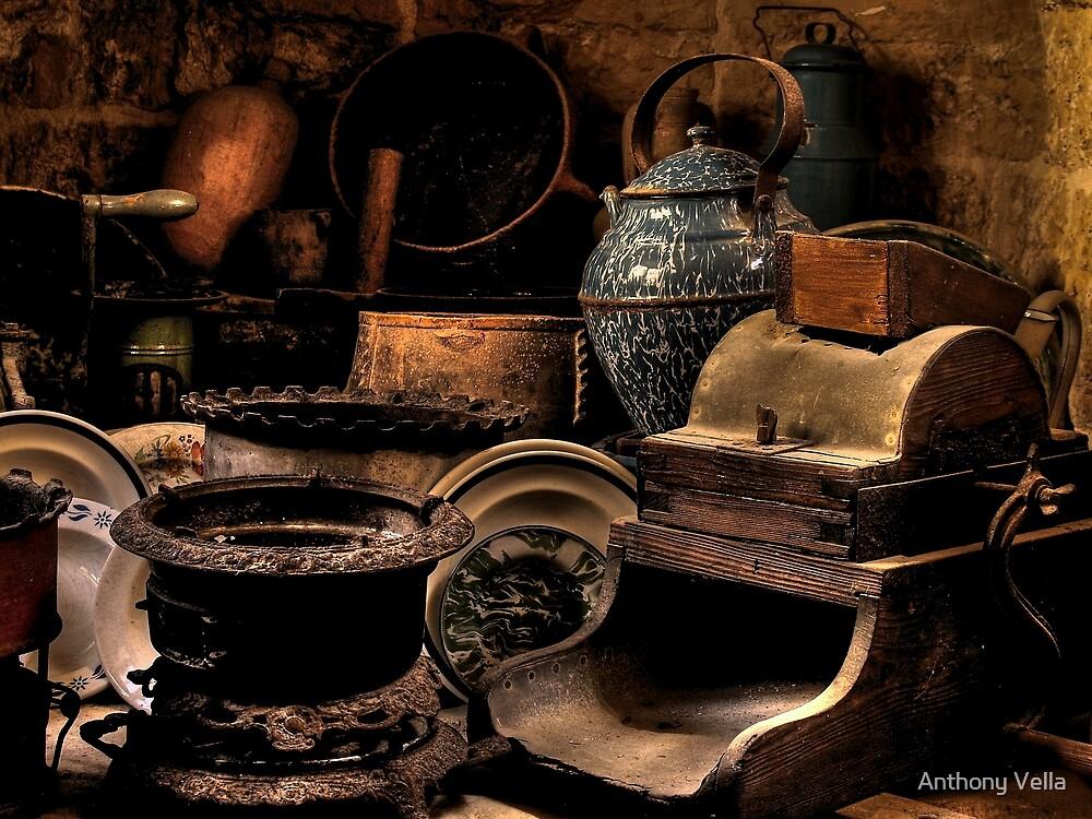 Kitchen Impliments by Anthony Vella