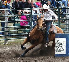 Cochrane Lions Rodeo #9, 2009, Canada. by Felicity McLeod