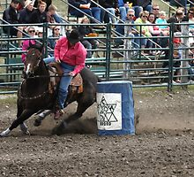 Cochrane Lions Rodeo #10, 2009, Canada. by Felicity McLeod
