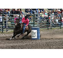 Cochrane Lions Rodeo #10, 2009, Canada. Photographic Print