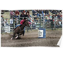 Cochrane Lions Rodeo #11, 2009, Canada. Poster