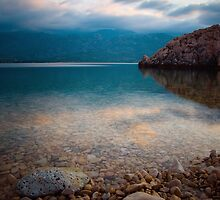 Reflection in the sea by Ivan Coric