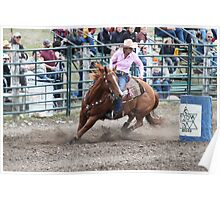 Cochrane Lions Rodeo #12, 2009, Canada. Poster