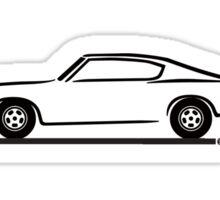 1969 Plymouth Barracuda Sticker