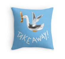 TAKE AWAY BIRD/COLLECTION Throw Pillow