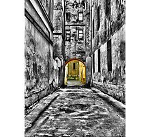 An Alley Photographic Print