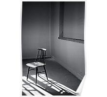 Empty Chair III Poster