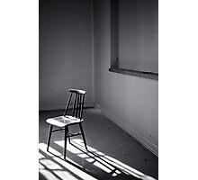 Empty Chair III Photographic Print
