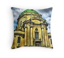 Dominicana Church Throw Pillow