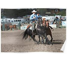 Cochrane Lions Rodeo #18, 2009, Canada. Poster