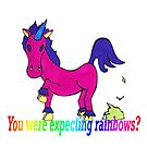 Unicorn rainbows? by Anne van Alkemade