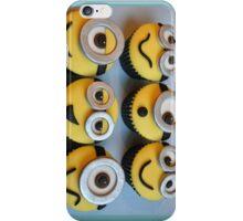 Minions cupcakes iPhone Case/Skin