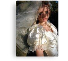 runaway bride 02 Canvas Print