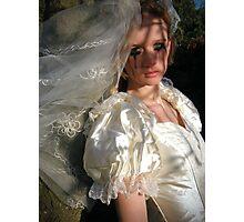 runaway bride 02 Photographic Print