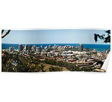 Coolangatta/Tweed Heads Panorama Poster