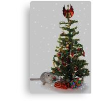 My first Christmas tree! Canvas Print