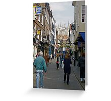The Minster from Stonegate Greeting Card